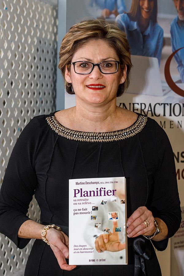 Martine Deschamps Planifier Sa Relève